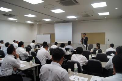 クリーニング経営コンサルタント中西正人(玉川セミナー講演風景)